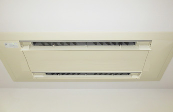 天井埋込型エアコンクリーニング